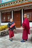 Student Monk Arkivfoton
