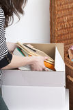 Student moving out Royalty Free Stock Photos