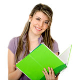 Student with a notebook Stock Photography