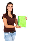 Student with a notebook Royalty Free Stock Photography