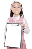 Student with notepad Royalty Free Stock Photos
