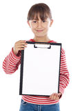 Student with notepad Royalty Free Stock Photo