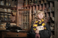 Student Of Hogwarts School Of Magic Stock Images