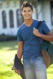 Student op school Royalty-vrije Stock Foto