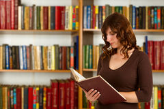 Student with open book Stock Image