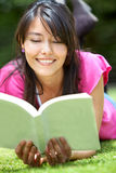 Student outdoors Royalty Free Stock Photo