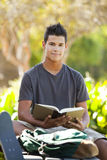 Student a park Royalty Free Stock Image
