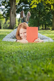Student in a Park Stock Images