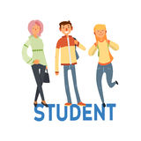 Student People Set 1 Stock Photo