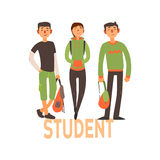 Student People Set 2 Stock Photography