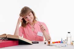 Student Pharmacist found in the directory name pills Royalty Free Stock Photo