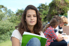 Student portrait Royalty Free Stock Photography
