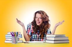 Student preparing Stock Images
