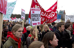 Student Protest Royalty Free Stock Photography