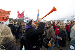 Student Protest Stock Images