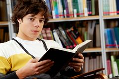 Student reading Stock Images