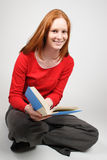 A Student Reading Stock Photos