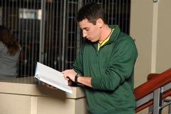 Student Reading royaltyfria foton