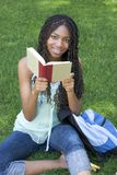 Student Reading royalty free stock image