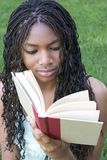 Student Reading. Student Girl Reading Stock Photos