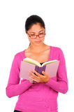 Student reading a book Stock Photography