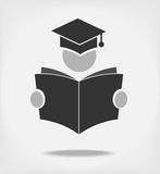 Student reading a book. Royalty Free Stock Photos
