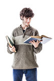 Student reading Royalty Free Stock Photography