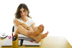 Student relax time Royalty Free Stock Photo