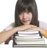 Student resting Stock Image