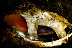 Student's cave from Trascau mountains, Romania Stock Photo