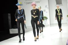 Student's fashion parade Royalty Free Stock Photography