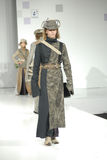 Student's fashion parade, Bionics style royalty free stock photography