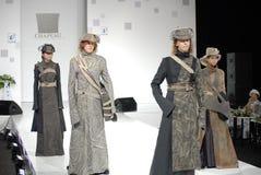 Student's fashion parade, Bionics style Stock Image