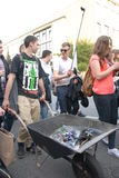 Student s holiday. This is the Korowod 2014 - student s holiday. May 6, 2014. Lublin, Poland Stock Image