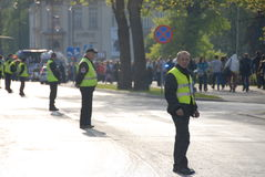 Student s holiday. This is the Korowod 2014 - student s holiday. May 6, 2014. Lublin, Poland Stock Photography