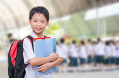Student at school Royalty Free Stock Images