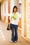 Student in school passage Stock Photography