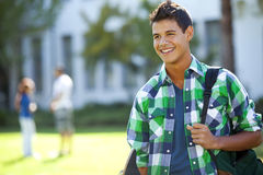 Student at school Stock Image