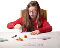 Student Science project Royalty Free Stock Image