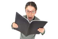 Student screaming Royalty Free Stock Photos