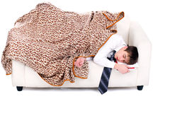 Student sleeping Royalty Free Stock Photos