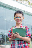Student smiling at school Royalty Free Stock Image