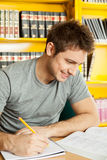 Student smiling Royalty Free Stock Photo