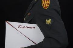 Student Soldier Lizenzfreies Stockfoto