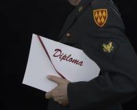 Student Soldier Lizenzfreie Stockfotos