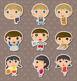 Student stickers Stock Images