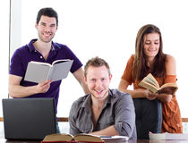 Student study group Royalty Free Stock Photo