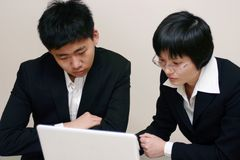 Student study together Stock Photography