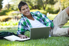 Student studying Royalty Free Stock Images