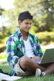 Student studying Stock Photography